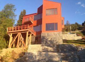 Nueva Casa en el Lago Caburga