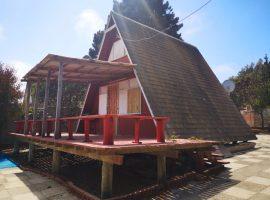 hermosa cabaña en venta en el Quisco.